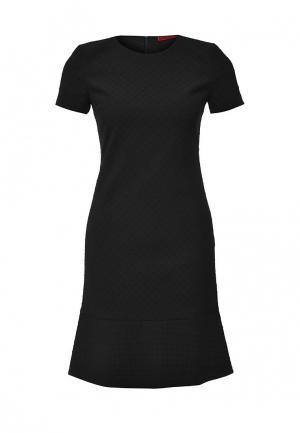 Платье Hugo. Цвет: черный