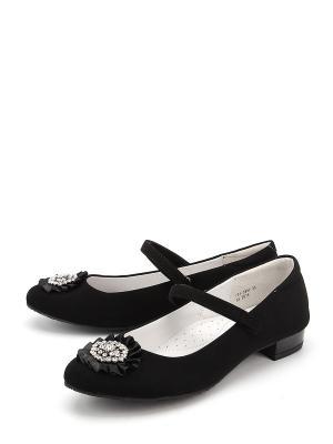 Туфли Антилопа. Цвет: черный