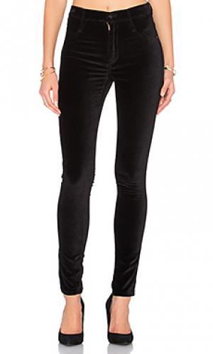 Узкие бархатные брюки high class James Jeans. Цвет: none