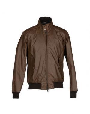 Куртка BARACUTA. Цвет: какао