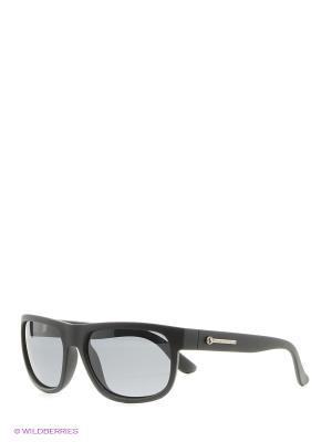 Солнцезащитные очки Franco Sordelli. Цвет: черный