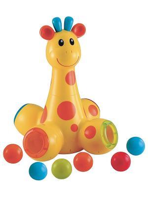 Игрушка для малыша Жираф ELC. Цвет: желтый