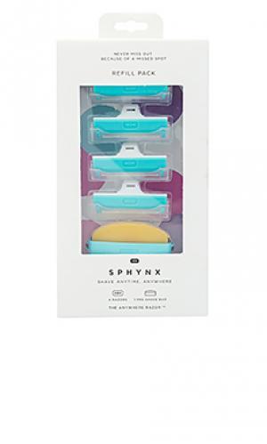 Сменная упаковка Sphynx. Цвет: сине-зеленый