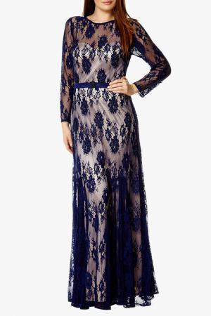 Платье Dynasty. Цвет: синий