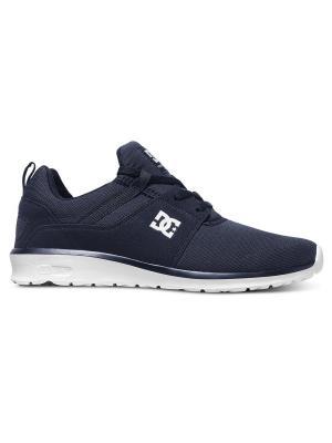 Кроссовки DC Shoes. Цвет: черный, индиго, белый