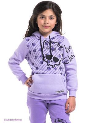 Худи Monster High. Цвет: сиреневый