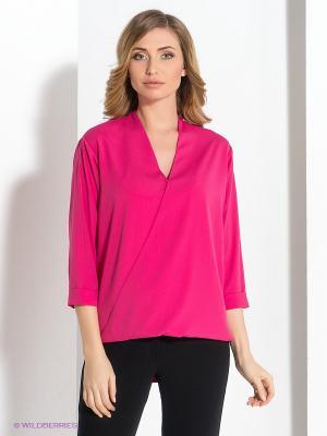 Блузка COMPAGNIA ITALIANA. Цвет: малиновый