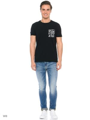 Футболка Calvin Klein. Цвет: черный