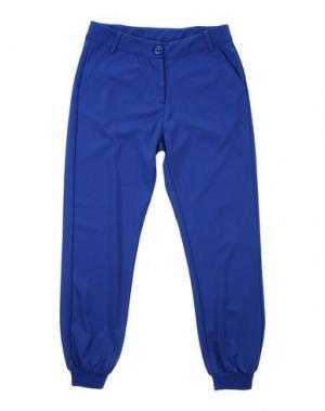 Повседневные брюки TO BE TOO. Цвет: ярко-синий