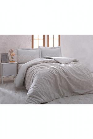 Комплект постельного белья Marie claire. Цвет: серый