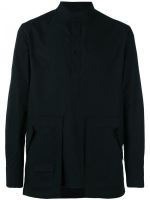 Oversized pocket shirt Letasca. Цвет: чёрный