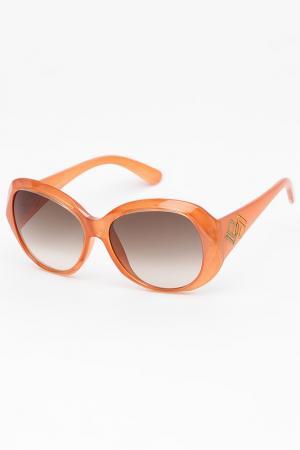 Очки солнцезащитные Laura Biagiotti. Цвет: оранжевый