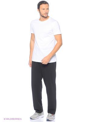 Мужские спортивные брюки A-sport. Цвет: черный