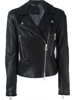 Байкерская куртка Marving T Belstaff. Цвет: чёрный