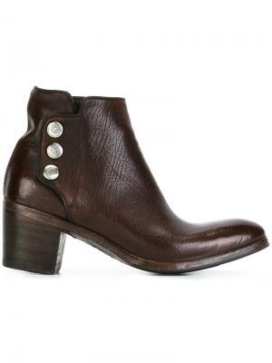 Ботинки Sveva Alberto Fasciani. Цвет: коричневый