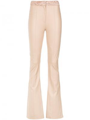 Широкие брюки Magali Martha Medeiros. Цвет: телесный