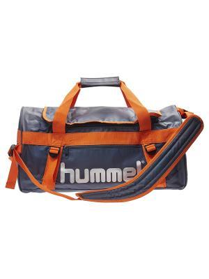 Сумка TECH SPORTS BAG HUMMEL. Цвет: серо-голубой