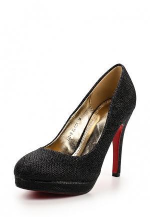 Туфли Weide. Цвет: черный