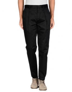 Повседневные брюки GAETANO NAVARRA. Цвет: черный