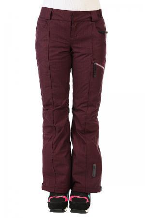 Штаны сноубордические женские  Gb Insulated Pants Aubergine Oakley. Цвет: бордовый