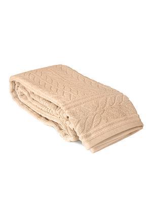 Полотенце махровое Хризантема, 50*90 см, в подарочной коробке Тет-а-Тет Т-МП-7161-01-03