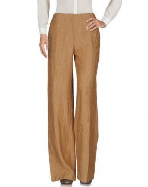 Повседневные брюки QL2 QUELLEDUE. Цвет: хаки