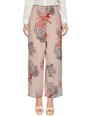 Повседневные брюки KATIA G.. Цвет: светло-розовый