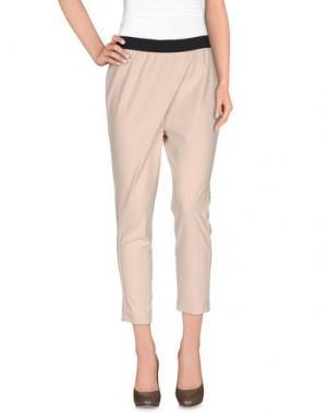 Повседневные брюки POIS. Цвет: бежевый
