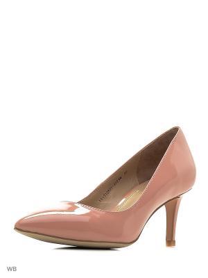 Туфли Mascotte. Цвет: розовый