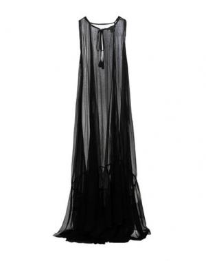 Длинное платье JUCCA. Цвет: черный