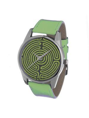 Часы Mitya Veselkov. Цвет: зеленый
