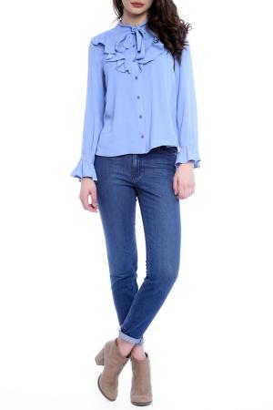 Блуза Emma Monti. Цвет: синий