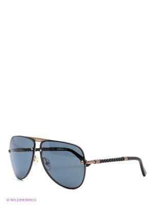Солнцезащитные очки BLD 1525 104 Baldinini. Цвет: черный, бронзовый