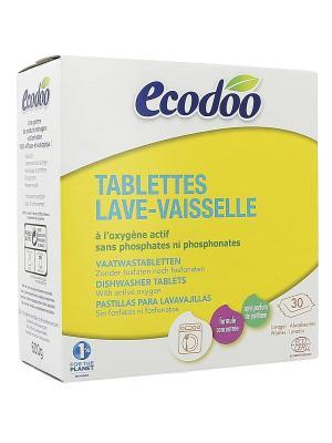 Ecodoo Таблетки Для Посудомоечных Машин, Коробка 600 Г. Цвет: белый