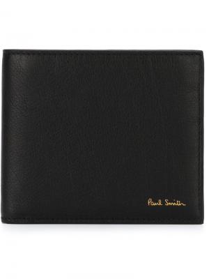 Классический бумажник Paul Smith. Цвет: чёрный