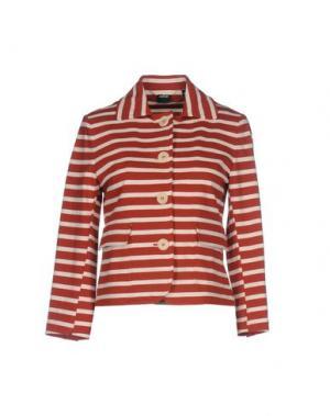 Пиджак ASPESI. Цвет: ржаво-коричневый