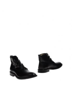 Полусапоги и высокие ботинки ANGEL. Цвет: черный
