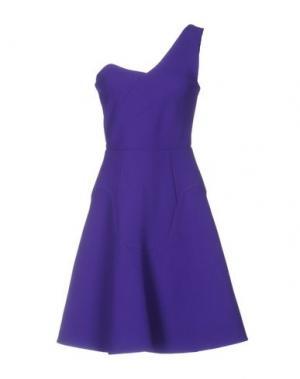 Короткое платье ROLAND MOURET. Цвет: фиолетовый