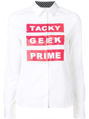 Рубашка Tacky Geek Prime Guild. Цвет: белый