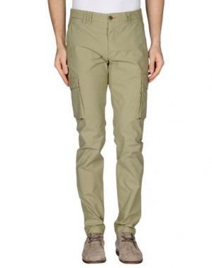 Повседневные брюки COCHRANE. Цвет: зеленый-милитари