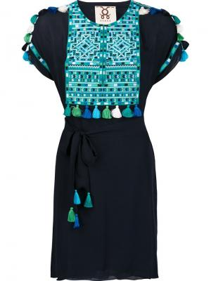 Платье Tikki Figue. Цвет: чёрный