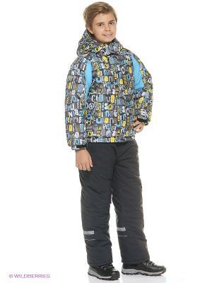 Куртка для мальчика Cherubino. Цвет: серый