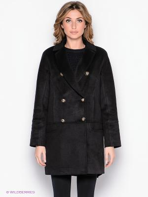 Пальто Malinardi. Цвет: черный