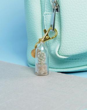 Rock 'N' Rose Брелок для ключей с живым кактусом N. Цвет: мульти