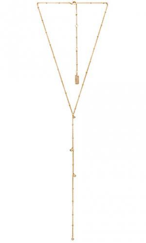 Ожерелье в форме лассо taken Melanie Auld. Цвет: золотой