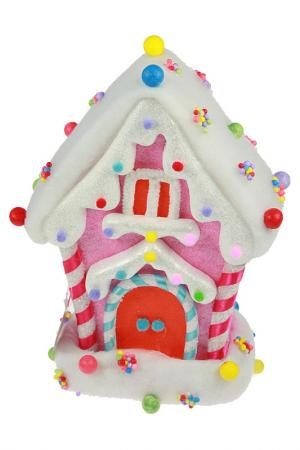 Сувенир Карамельный домик Christmas. Цвет: мульти