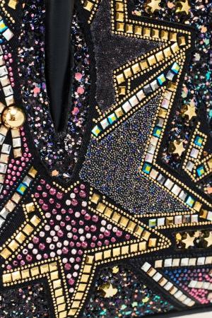 Декорированная сумка Paloma Nano Christian Louboutin. Цвет: черный