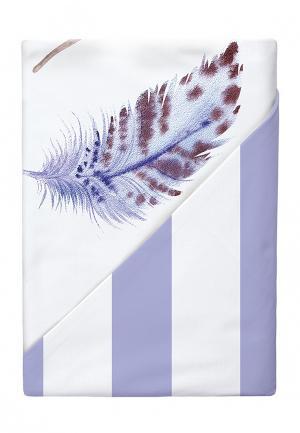 Комплект постельного белья Семейный Verossa. Цвет: фиолетовый