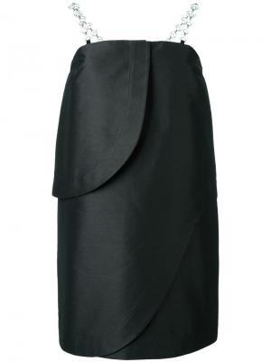 Короткое платье без бретелек Isa Arfen. Цвет: чёрный