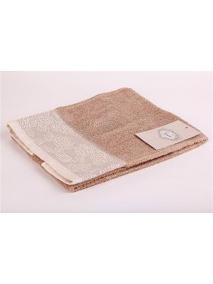 Комплект полотенец 2 предмета Onda La Pastel. Цвет: коричневый